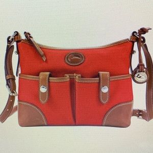 NEW Dooney & Bourke (RED) Weather Leather Purse
